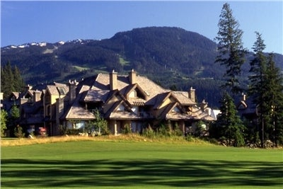 Whistler Blackcomb on The Golf Course: Gleneagles